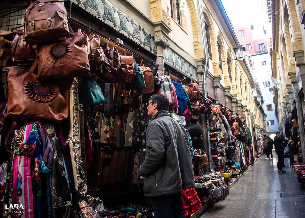 De compras en el Zoco