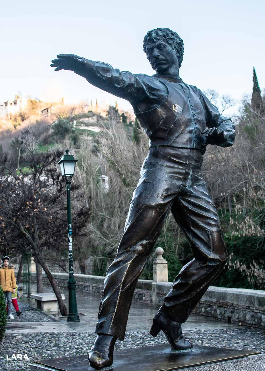 Estatua flamenca