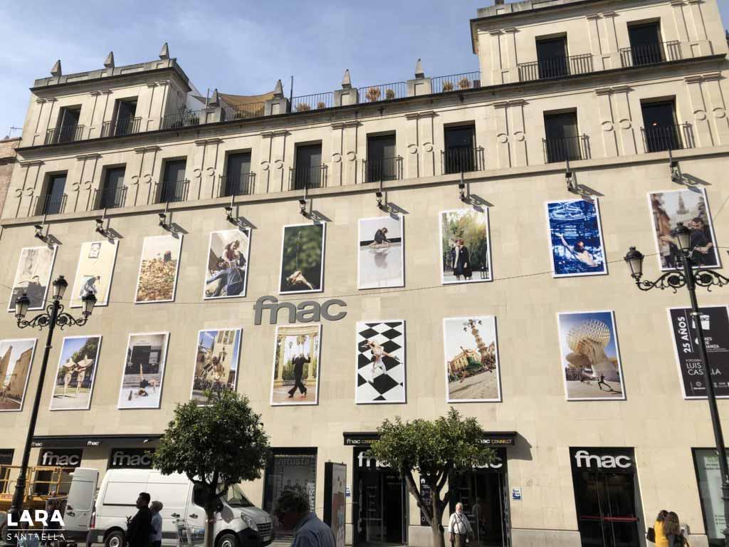 La exposición de Luis Castilla, el mismo día de su montaje, 25 de octubre.